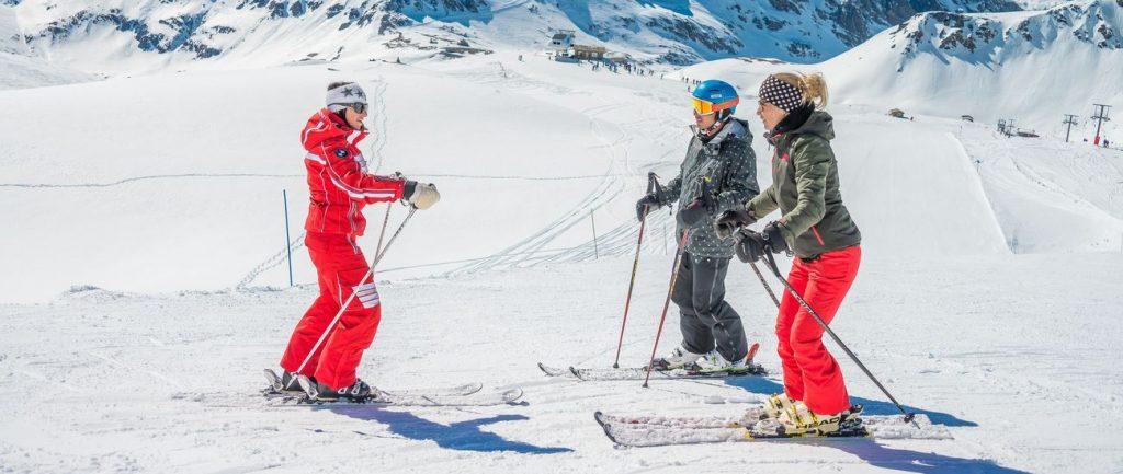 moniteur de ski alpin